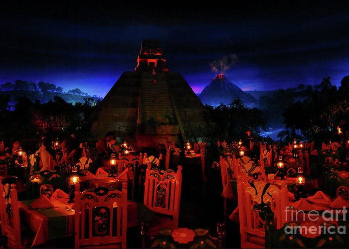 Fine Art Photography Greeting Card featuring the photograph San Angel Inn Mexico by David Lee Thompson