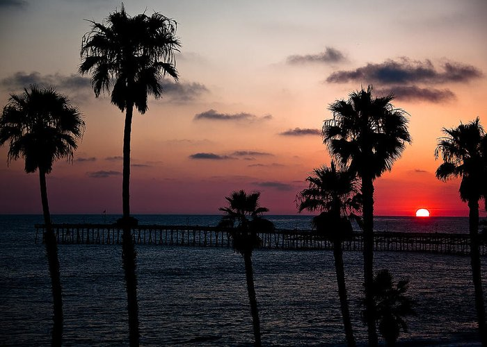 Ralf Greeting Card featuring the photograph San Clemente by Ralf Kaiser