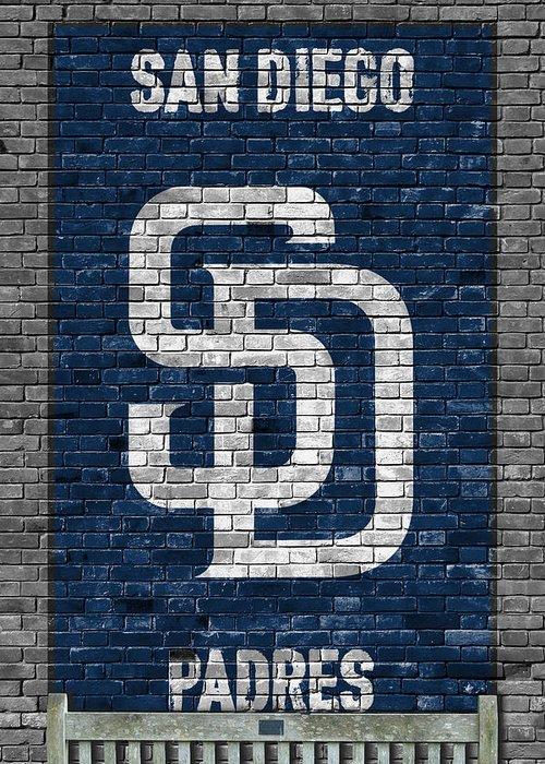 San Diego California Baseball Stadiums Paintings Greeting Cards