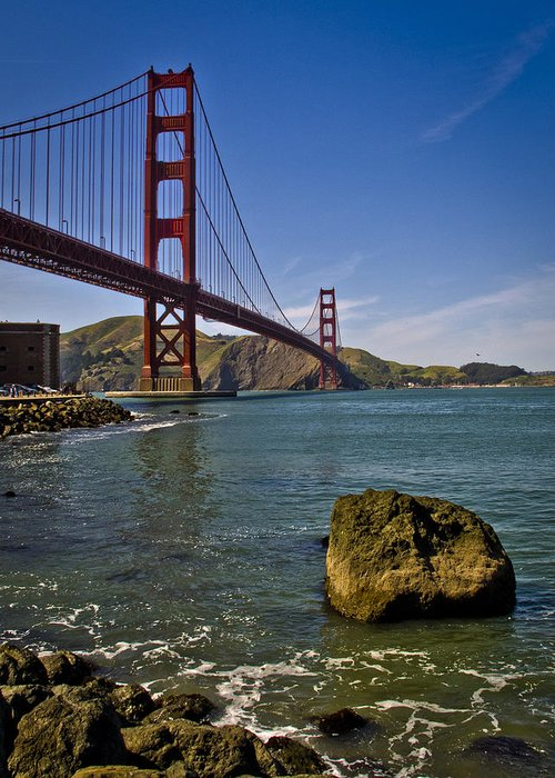 San Francisco Greeting Card featuring the photograph San Francisco by Niels Nielsen