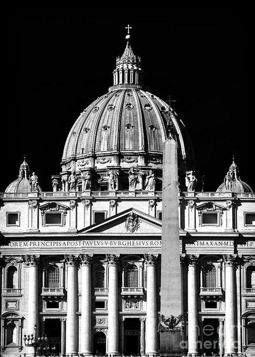 San Pietro Greeting Card featuring the photograph San Pietro by John Rizzuto