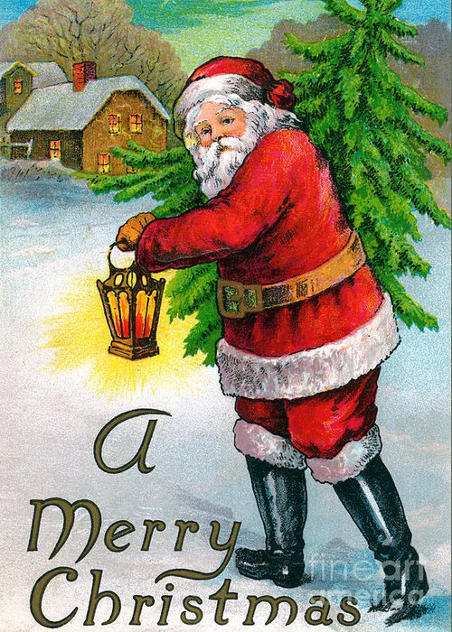 Father Christmas Greeting Cards