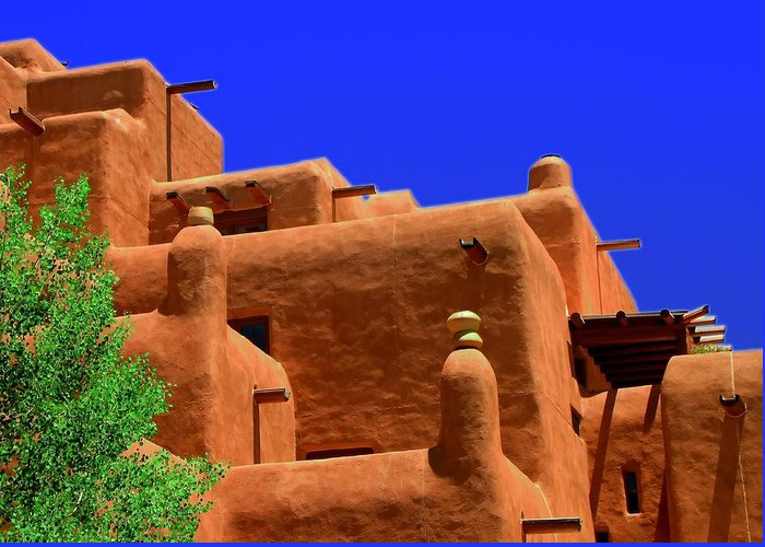 Santa Fe Greeting Card featuring the photograph Santa Fe by Neil McCarver