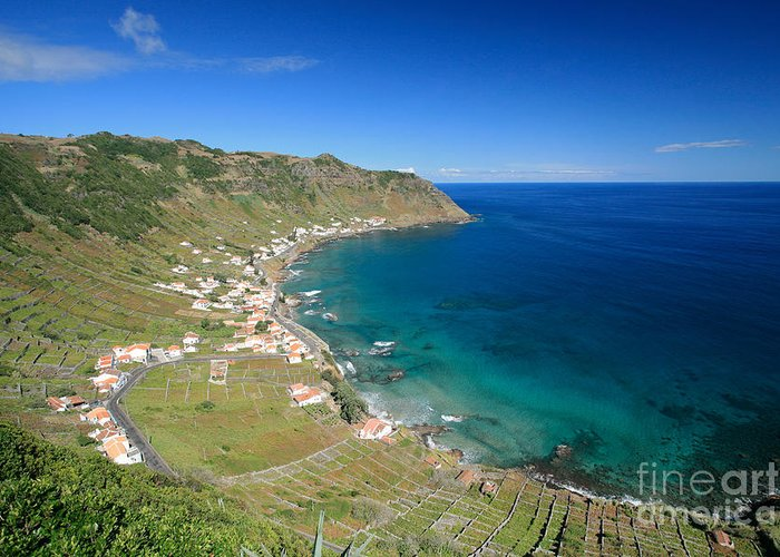 Azores Greeting Card featuring the photograph Santa Maria Azores II by Gaspar Avila