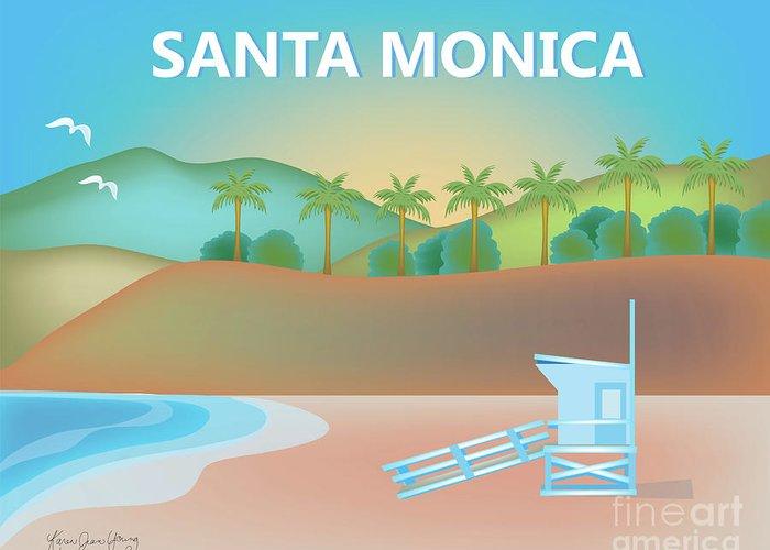Santa Monica Greeting Cards