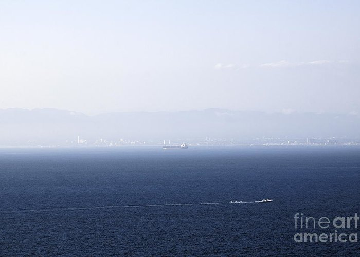 California Greeting Card featuring the photograph Santa Monica by Viktor Savchenko
