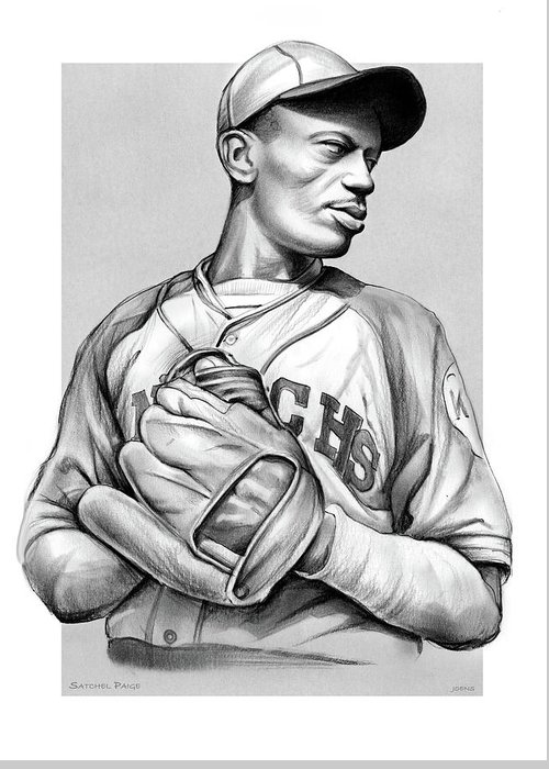 Satchel Paige Greeting Cards