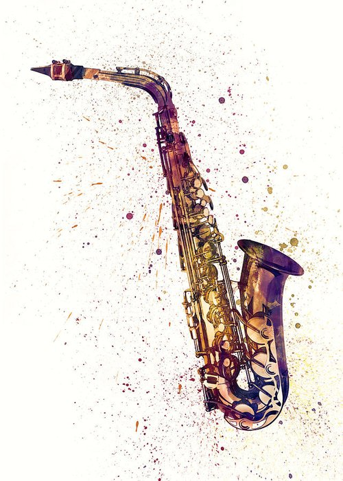Saxophone Greeting Cards