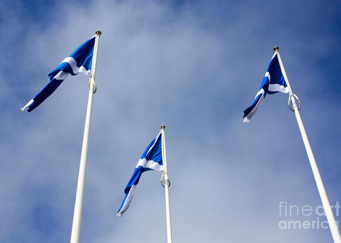 Scotland The Brave Greeting Cards