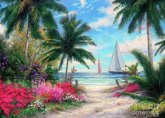 Soothing Paintings Greeting Cards
