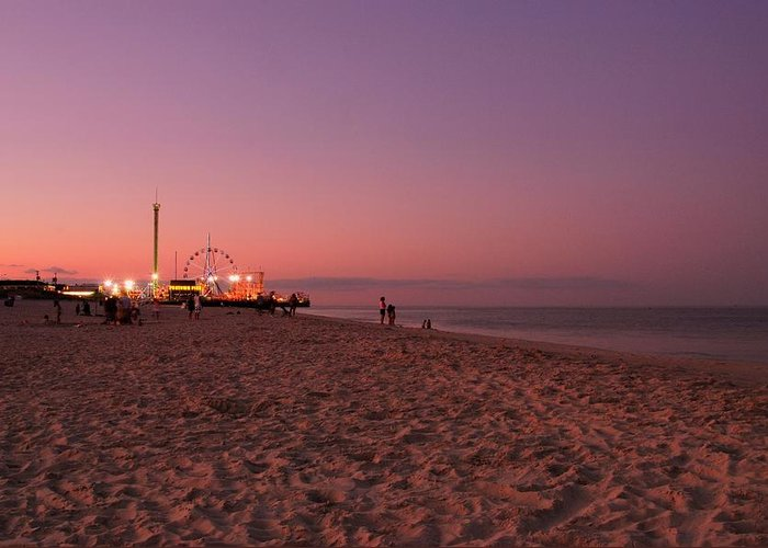Seaside Park Greeting Card featuring the photograph Seaside Park I - Jersey Shore by Angie Tirado