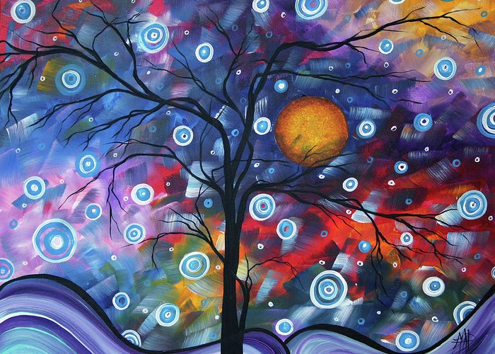 112310 Greeting Card featuring the painting See The Beauty by Megan Duncanson