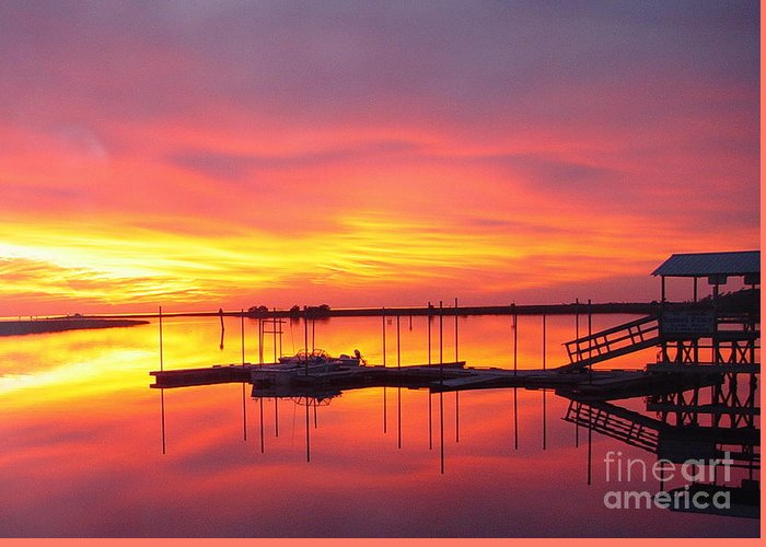 Sunsets Greeting Card featuring the photograph Seeing Is Believing by Debbie May