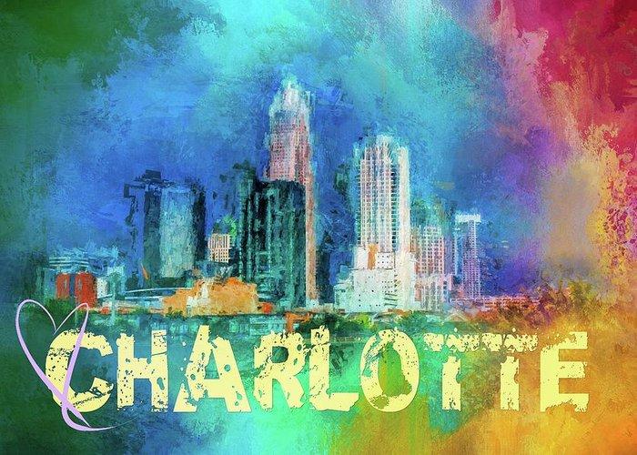 I Love Charlotte Greeting Cards