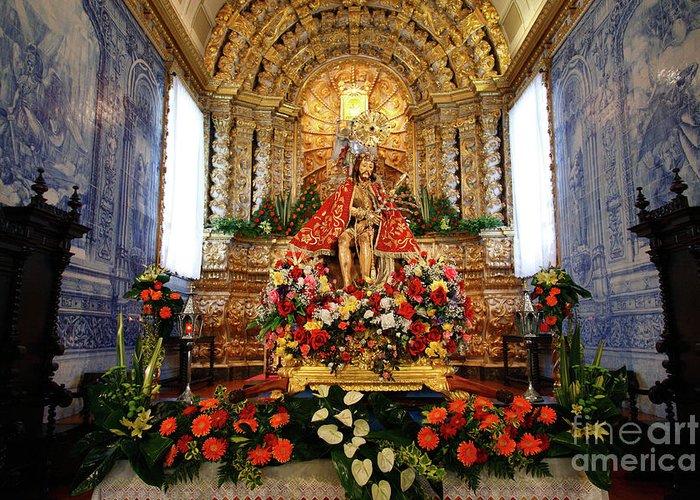 Church Greeting Card featuring the photograph Senhor Bom Jesus Da Pedra by Gaspar Avila