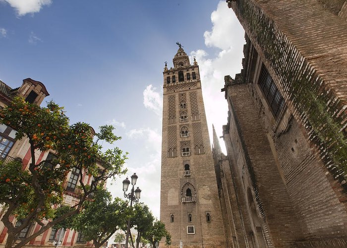 Ancient Greeting Card featuring the photograph Sevilla by Andre Goncalves