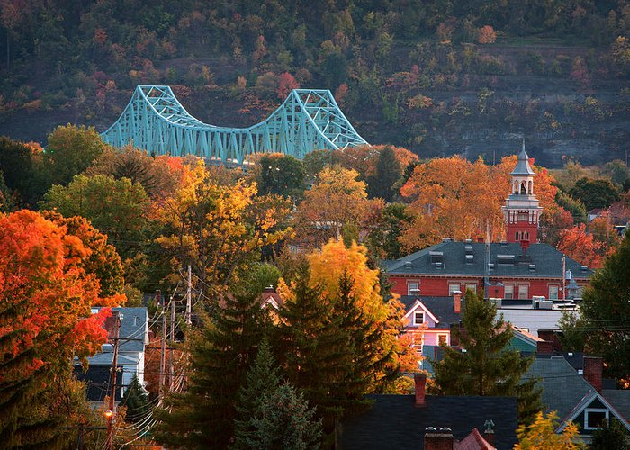 Sewickley Greeting Card featuring the photograph Sewickley 6 by Emmanuel Panagiotakis