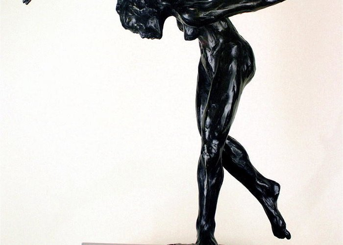 Series Of 10 Greeting Card featuring the sculpture Shadow Dancer by Dan Earle