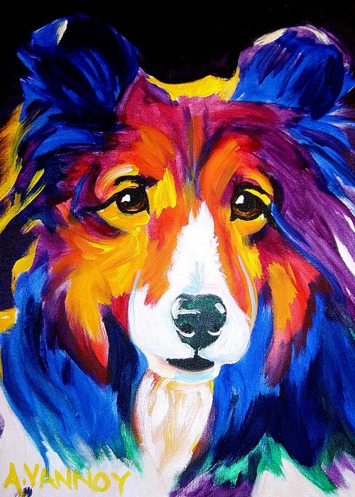 Sheltie Greeting Cards