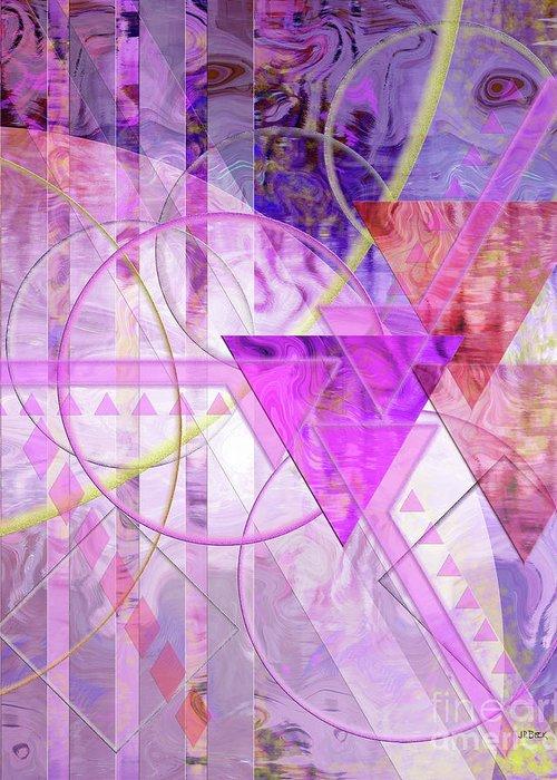 Shibumi Greeting Card featuring the digital art Shibumi Spirit by John Beck