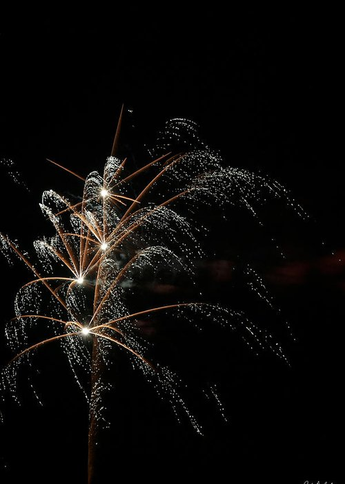 July 4th Greeting Card featuring the photograph Shooting Stars by Phill Doherty
