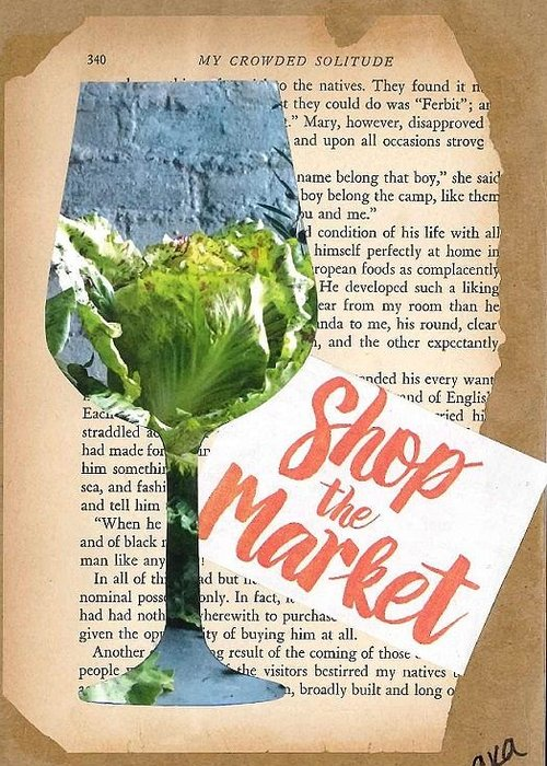 Vintage Wine Lovers Mixed Media Greeting Cards