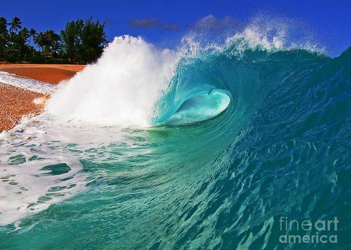 Ocean Greeting Card featuring the photograph Shorebreaker by Paul Topp