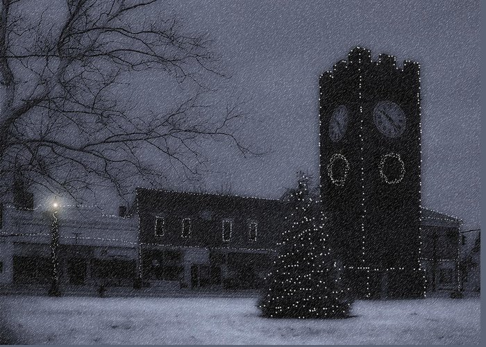 Night Greeting Card featuring the photograph Silent Night by Kenneth Krolikowski