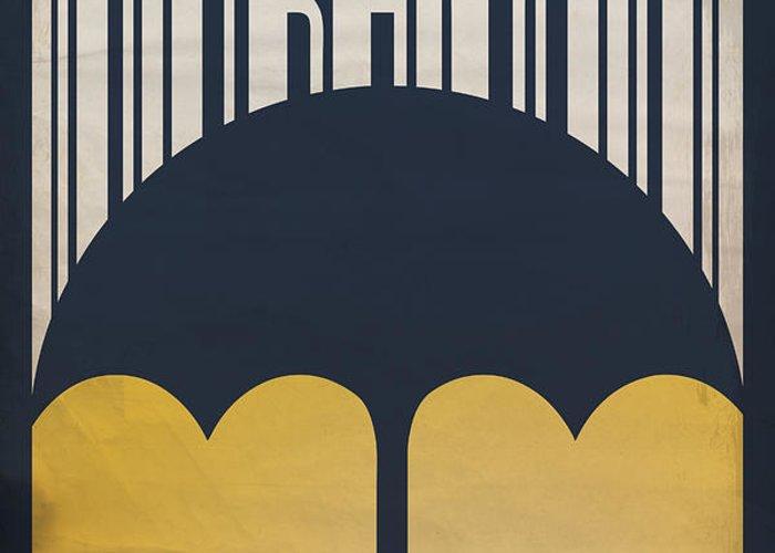 Gene Kelly Greeting Card featuring the digital art Singin' In The Rain by Megan Romo