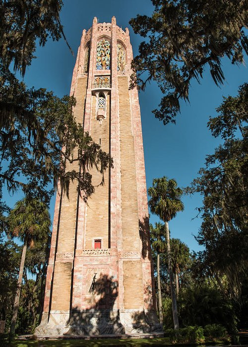 Singing Tower Greeting Card featuring the photograph Singing Tower by Zina Stromberg
