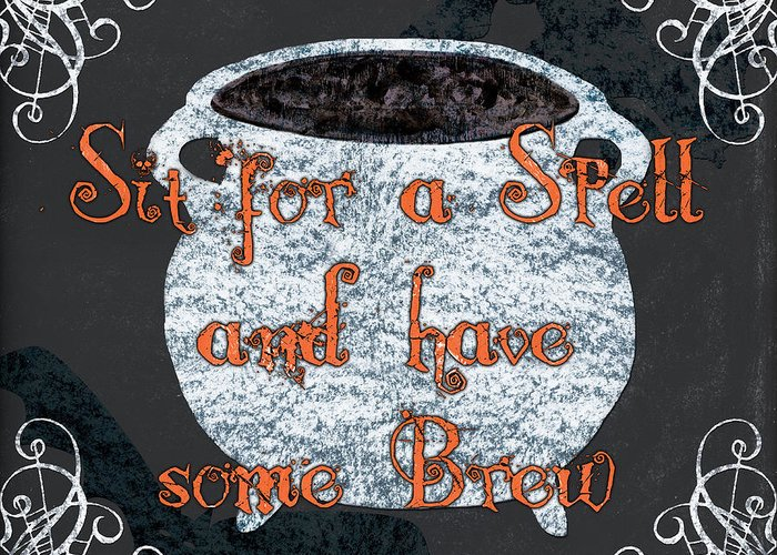 Witches Brew Greeting Cards