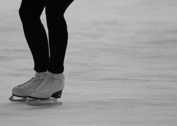 Skating Greeting Card featuring the photograph Skating II by Lauri Novak