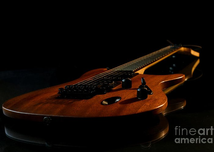 Rock Greeting Card featuring the photograph Slow-hand-guitar by Franziskus Pfleghart