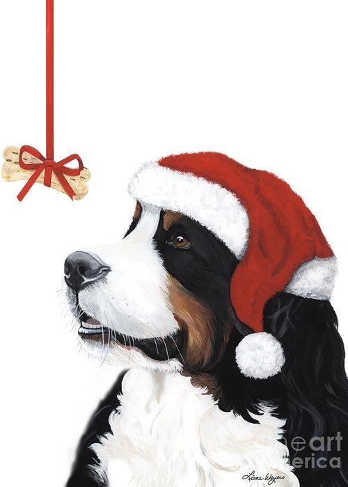 Bernese Mountain Dog Greeting Cards
