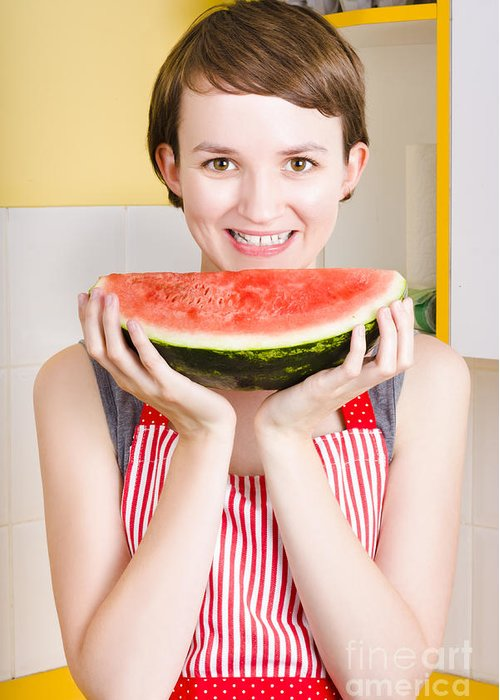 Watermelon Greeting Cards
