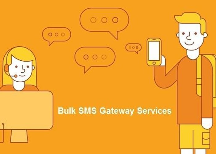 Bulk Sms Greeting Card featuring the digital art SMS Gateway - A smartest way to reach huge audience by Natasha Williams