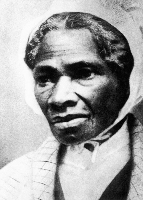 1863 Greeting Card featuring the photograph Sojourner Truth by Granger