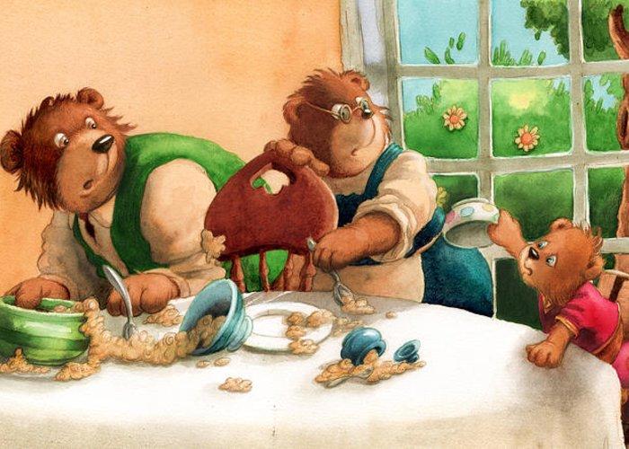 Porridge Paintings Greeting Cards