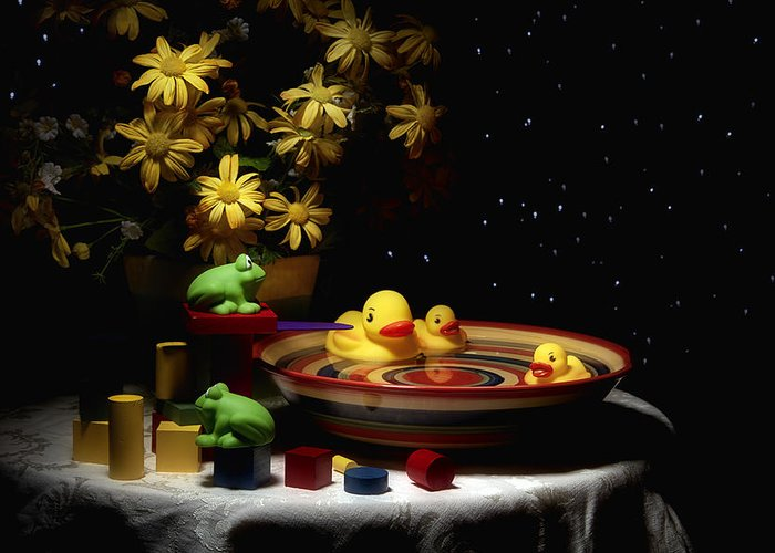 Rubber Duckie Greeting Cards