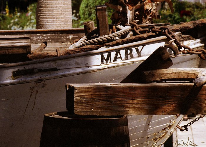 Boat Greeting Card featuring the photograph Someting About Mary by David Starnes