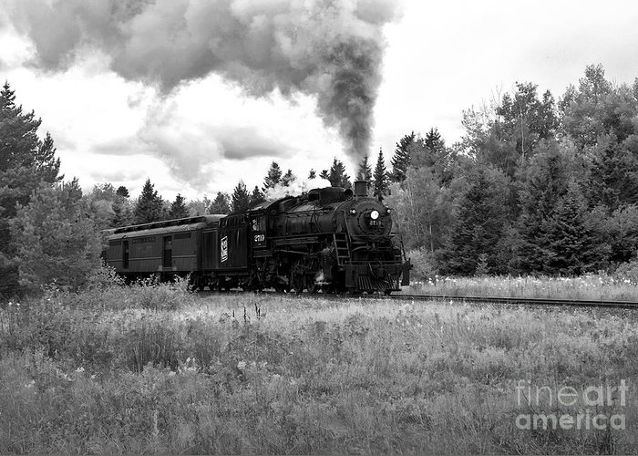 Train Greeting Card featuring the photograph Soo Line No 2719 by Fred Lassmann