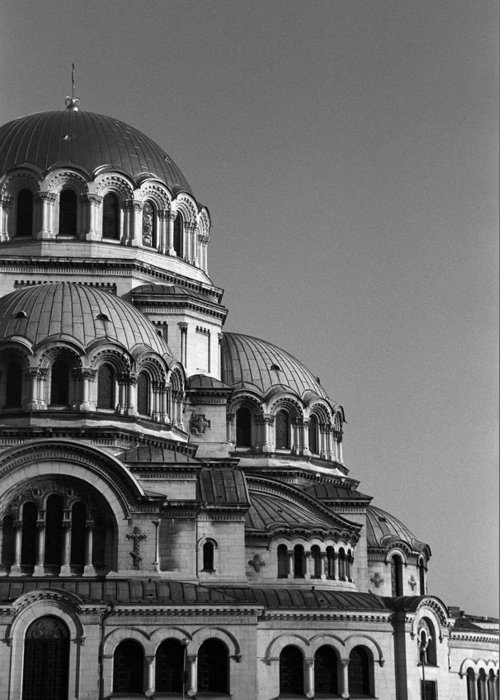 Sofia Greeting Card featuring the photograph Sophia Church by Marcus Best