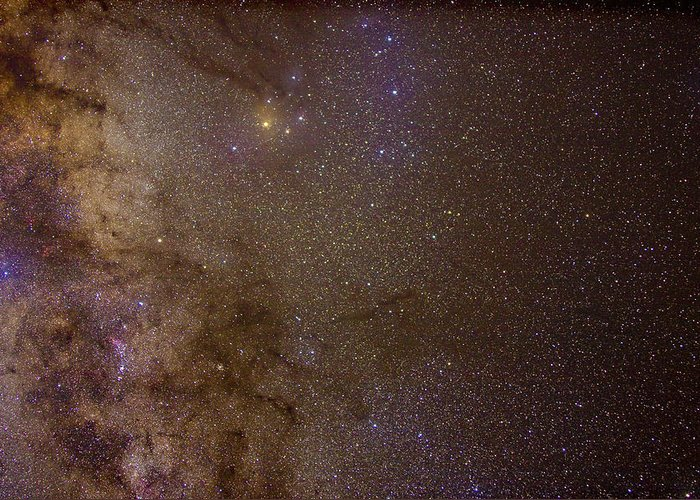 Milky Way Greeting Card featuring the photograph Southern Milky Way by Charles Warren