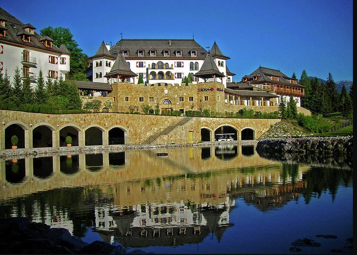 Europe Greeting Card featuring the photograph Spa Resort A-rosa - Kitzbuehel by Juergen Weiss