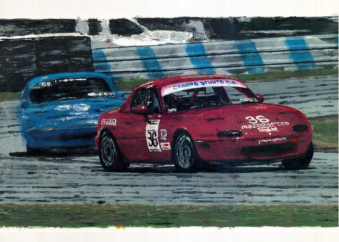 Spec Miata For Sale >> Spec Miata 1 Greeting Card For Sale By James Haas