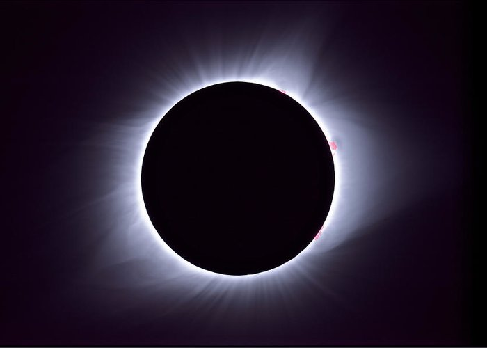 Solar Eclipse Greeting Cards