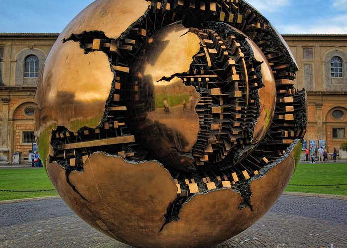 Europe Greeting Card featuring the photograph Sphere Within Sphere by Inge Johnsson