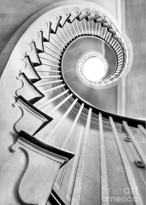 Spiral Staircases Greeting Cards