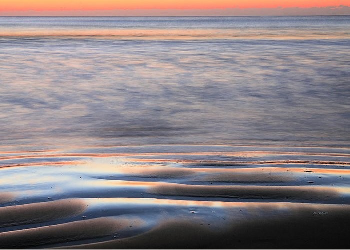 Atlantic Greeting Card featuring the photograph Splash by JC Findley