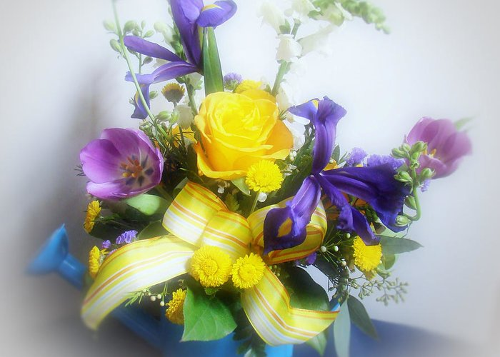 Flowers Greeting Card featuring the photograph Spring Bouquet by Sandy Keeton
